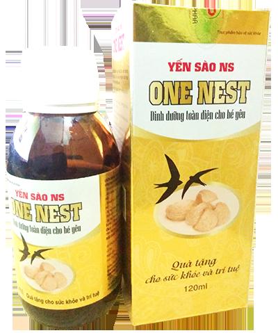 Hộp và lọ yến sào one nest