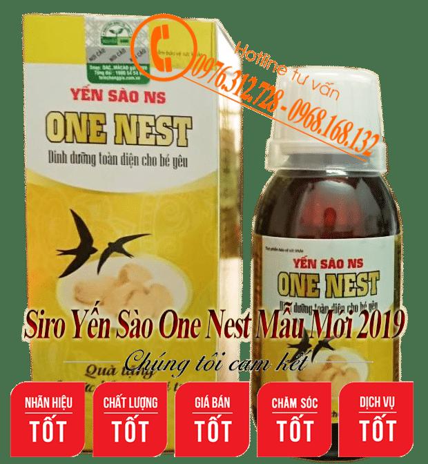 yến sào one nest mới 2019
